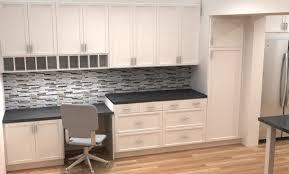 Ikea Kitchen Cabinet Styles With Peninsula Black Cabinets Granite Countertops Design Ideas
