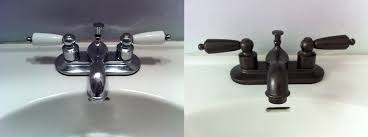 Brushed Bronze Bathroom Fixtures Rustoleum S Rubbed Bronze Spray Paint Obsessed Entirely
