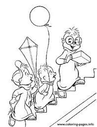alvin chipmunks coloring pages alvin chipmunks