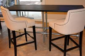 diy bar height table diy counter height table with pipe legs simplified building
