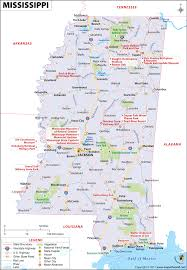 Map O Map Of Mississippi Mississippi Map Ms