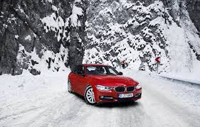 cars bmw red photo bmw 3 f30 320d red snow cars