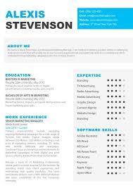 Free Resume Template Mac Iwork Resume Templates Modern Resume Template Stylish Resume