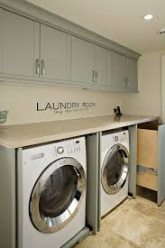 Laundry Cabinet With Hanging Rod 30 Best Laundry Room Images On Pinterest Laundry Rooms Mud