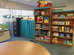 milk crate shelves schoolhouse talk 2015 speech therapy room tour part 1
