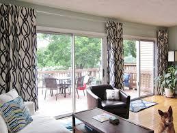 hang single curtains for sliding doors u2014 interior exterior homie