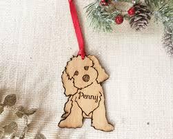 cavapoo mini goldendoodle labradoodle ornament