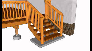 Stair Handrail Ideas Deck Railing Designs Wood Deck Railing Designs Deck Railing