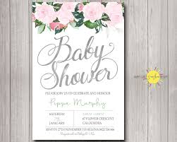 personalised baby shower invitations australia for baby shower party