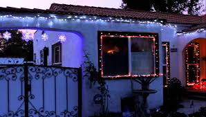 christmas led lights dripping icicle lights youtube