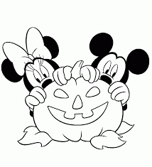 halloween mickey mouse coloring pages coloring home
