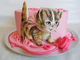 139 kitty cakes cupcakes cake topers images