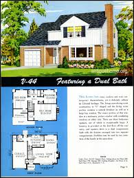 Floor Plan Services Real Estate by 1949 Ranch Style Homes From National Plan Service And