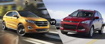 ford crossover suv ford edge vs 2016 ford escape