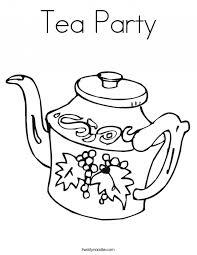 fancy nancy tea party coloring pages kids coloring