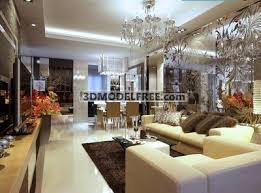 Modern Luxury Living Room Design D Model DownloadFree D Models - Luxurious living room designs