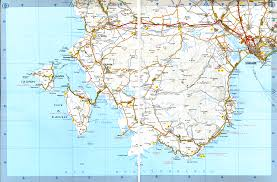 Road Map Of Italy by Road Map To Costa Del Sud Costa Del Sud Is Located West Of