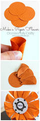paper witch hat paper flower tutorial halloween printable blog