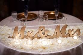 mr mrs wedding table decorations mr and mrs wedding sign for table centerpieces decor mr and mrs