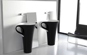 Contemporary Pedestal Sinks Dadka U2013 Modern Home Decor And Space Saving Furniture For Small