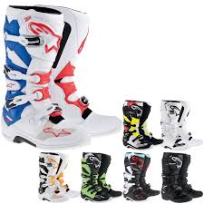 off road riding boots alpinestars tech 7 men u0027s off road motorcycle boots black size