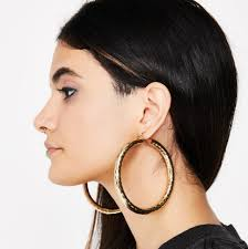 90s hoop earrings copy cardi b s 90s inspired from the bruno mars finesse