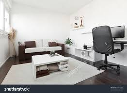 office in living room living room with desk homes design trends also computer in images