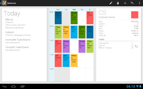 Study Schedule Template Excel Timetable Android Apps On Play