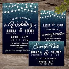 wedding invitations limerick fairy lights wedding invitations alternative wedding