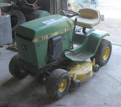 john deere 116 lawn mower item g4947 sold wednesday oct
