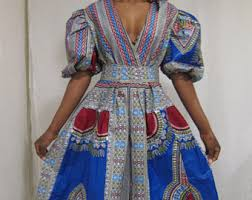 dashiki dress etsy