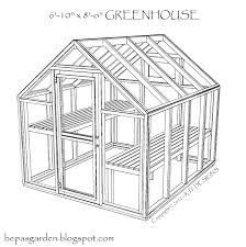 greenhouse shed plans bepa u0027s garden greenhouse plans
