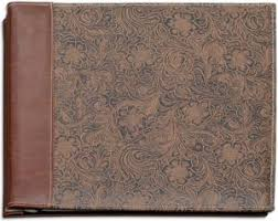 leather scrap book horseman s tooled leather scrapbook artsy crafty