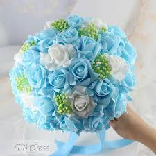 white and blue roses the 25 best blue bouquet ideas on flowers for