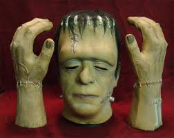 frankenstein mask frankenstein mask and glove auction
