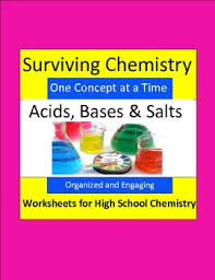 acids bases u0026 salts organized u0026 engaging worksheets for high