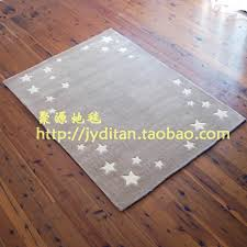 Kids Rugs Sale Hand Made Cut Pile Grey Star Area Rugs For Kids For Sale