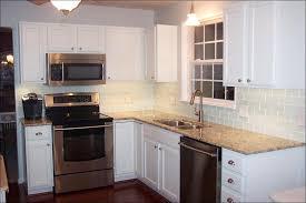 kitchen white backsplash black backsplash glass tile backsplash