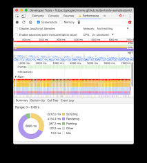 get started with analyzing runtime performance tools for web