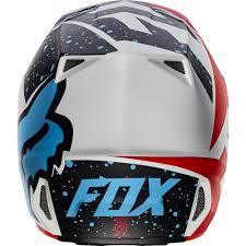 motocross helmets fox fox v2 nirv mx17 helmet
