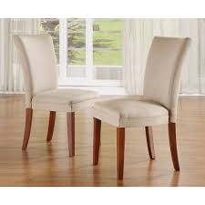 dining room white leather parsons dining chairs formal dining