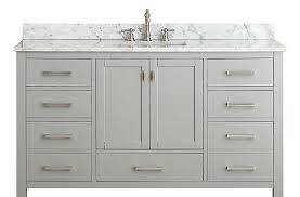 new bathroom best usage of 54 inch bathroom vanity single sink
