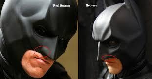 real batman vs hot toys tdk ver