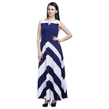 navy blue and white striped dress dress images