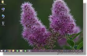 arriere plan du bureau tutoriel windows 8 1 afficher l arrière plan de votre bureau sur l
