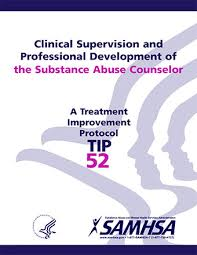 Counselor Treatment Manual Pdf Tip 52 Clinical Supervision And Professional Development Of The