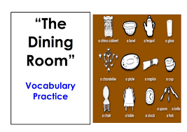 The Dining Rooms by Learn Dining Room Vocabulary Easy English Conversation Practice