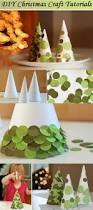 diy tabletop paper christmas trees u2013 medooz