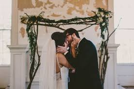 Wedding Arches In Church A Wedding At An Abandoned Church Paige John Marriage Love