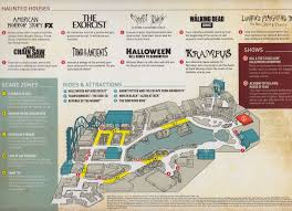 disney world halloween horror nights universal studios california map california map orlando universal